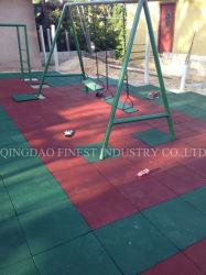 Ratto di gomma del passaggio pedonale del tetto del puzzle di gomma di Tegels del campo da giuoco di alta qualità