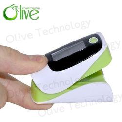 Pantalla OLED de color pulsioxímetro de dedo médicos para el hogar