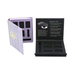 Contenitore di regalo di carta impaccante di carta cosmetico su ordinazione del contenitore di contenitore di carta di ombretto di colore del contenitore di regalo