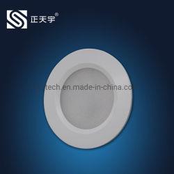 De aluminio de 2,5 cc Powered LED puck en el Gabinete/Contador/wc/Lámpara de cocina