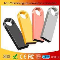 Clé USB en métal étanche classique /Clé USB libre de gravure au laser du logo en usine