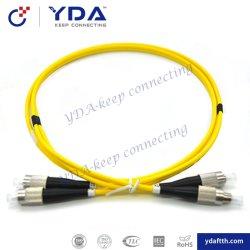LC/Sc/FC/St Simplexfaser-optisches Kabel-Steckschnür duplex-Inspektions-mm Om1 Om2 Om3 Om4 Om5