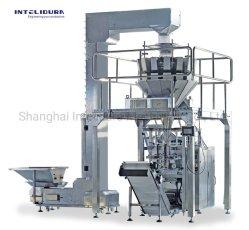 Automatische Patato Spaanders/Machine van de Verpakking van de Vorm van de Snack/van het Suikergoed/van het Hoofdkussen Spaguetti/Chifle de Verticale