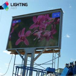 Dünne im Freien Vorstand LED-Bildschirmanzeige des Produkt-bekanntmachende P 10