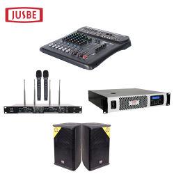 2019熱い販売法USB MP3プレーヤーが付いている新しい小型DJの可聴周波ミキサー