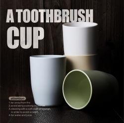 Tazza di plastica durevole all'ingrosso del Toothbrush delle coppie