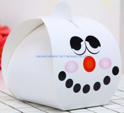 Boîte de papier de simple gâteau de bonbons emballage pour cadeau de vacances à bas prix de l'emballage