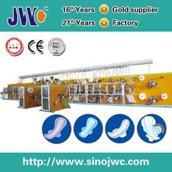 빠르 쉬운 포장 (JWC-KBD400)를 가진 고속 위생 냅킨 기계
