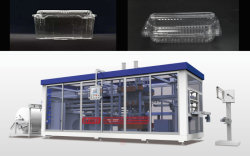 3021 Mooncake Boîte en plastique dans Molde Thermoformage Making Machine