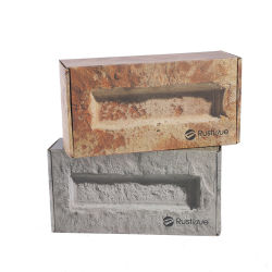 생물 분해성 상자, 서류상 접히는 상자, 비누 판지 상자 포장