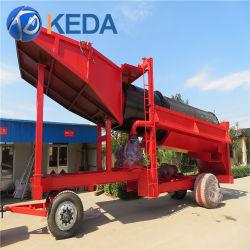 Placer l'exploitation aurifère Qingzhou Keda Trommel
