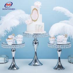 유럽식 당 훈장 결혼식 금속 둥근 컵케이크 케이크 대
