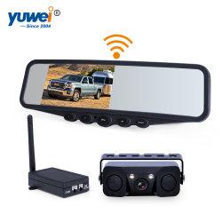"""Wasserdichte Digital-drahtlose Autorearview-Kamera mit """" Spiegel-Monitor-Parken-Fühler des Rearview-4.3"""