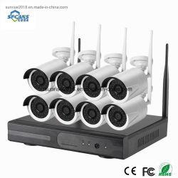 kit senza fili della videocamera di sicurezza di sorveglianza della lunga autonomia di 8channel 1080P