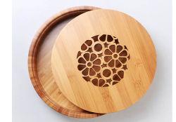 La Chine de gros articles ménagers en bois de bambou naturel de la table de la plaque de thé Kung Fu
