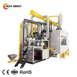 Los residuos de aluminio de la Cápsula de planta de reciclaje separación