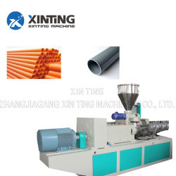 La línea de extrusión de tubería de PVC 75-160mm