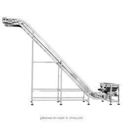 경사진 산업용 전동식 벨트 컨베이어 - 무료 유동 제품