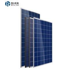 Produto pulverulento cristalino de polietileno 185W Electricidade solar painéis fotovoltaicos fabricados na China