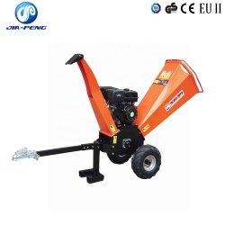 Máquina Triturador picador de madeira com 15HP Motor a gasolina para o agricultor utilizar