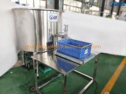 半シロップの口頭砂糖のゼリーの飲み物のCbdの自動のりの洗浄力がある液体の重量充てん機械