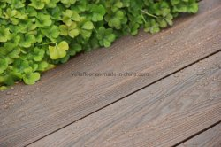 WPC декорированных Wood-Plastic Co-Extrusion композитов древесных композиционных материалов для использования вне помещений полы строительные материалы из дерева пластиковые деки для установки вне помещений