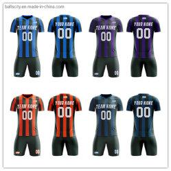 La sublimazione respirabile dei vestiti ha stampato l'usura su ordinazione di calcio della camicia di gioco del calcio