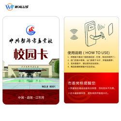 Plastique PVC personnalisé carte imprimée à l'école/student/bureau/personnel/PVC/ID/nom/cartes d'affaires avec votre conception