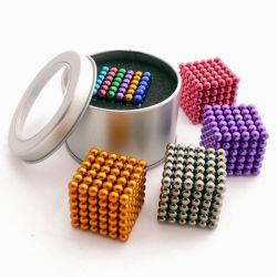 Magische Verkaufs-Produkte des Würfel-3mm 216PCS magnetische heiße der Kugel-5mm