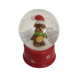 Рождественские украшения полимера воды фото несут снег Глобусы
