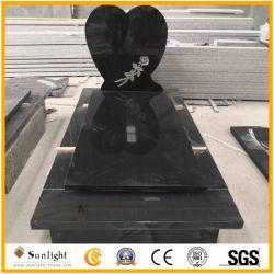 Настроенные на заводе G664/Шаньси черный/G603/Aurora/G654/Багама синий/многоцветные красного гранита камень европейской Польша стиль Карвинг Headstone/Tombstone за мемориал
