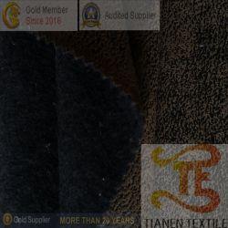 Polyester-Verzerrung-Veloursleder 100% mit nichtgewebtem Gewebe für Hometextile