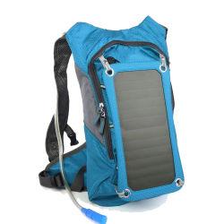Pilha recarregável personalizado Outdoor multifuncional de viagens de bicicleta a energia solar Saco de hidratação