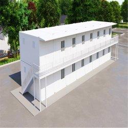 Het draagbare Huis van de Container van het Pak van de Duurzaamheid Vlakke met de Structuur van het Staal van Multifunctioneel