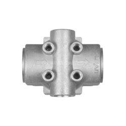 Filtro de óleo/ar Conpressor Fundido fundição de alumínio para as peças do motor/Auto partes separadas