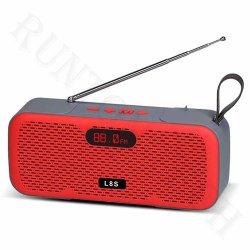 الساعة اللاسلكية الرياضية L8s عرض سماعة Bluetooth عالية الصوت مع FM USB MP3