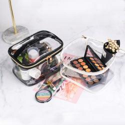 Прозрачный косметический случае водонепроницаемый портативный промойте Multi-Functional поездки мешок для макияжа