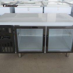 frigorifero commerciale chiaro blu multifunzionale 304ss