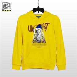OEM Hoodie Sweatshirt 95% Katoen 5% Spandex Lange Koker Afgedrukte Overmaatse Trui Hoodies
