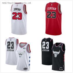23 Иордания полиэфирной сетки установите личные пользовательские баскетбол обмундирования рубашки