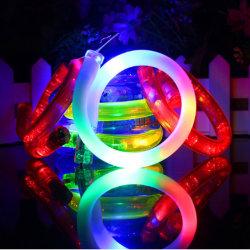 Blinkende bunte LED-Armbänder für Nachtspiel-Spaß-Ereignisse