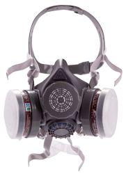 Het in te ademen Masker van de Filter van het Ademhalingsapparaat van het Traangas van het Silicium Rubber Rokende