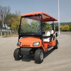 Automobile elettrica classica a pile di golf della spola della Cina 4 Seater
