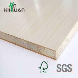 Melamin lamellierter Kern Blockboard Kiefer-Pappel-Indonesien-Malacca
