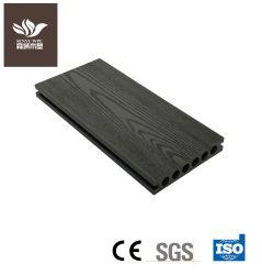 Piscina WPC material composto de plástico de madeira Gofragem placa em deck