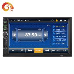 Factory Venta caliente bajo precio de dos DIN Universal 7'' el reproductor de radio del coche y auto-radio reproductor de MP5