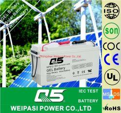 12V150AH 태양풍 젤 재충전용 전원 시스템 가로등 에너지 저장 건전지