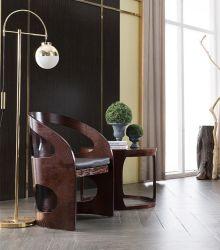أندونيسيّ فندق صغيرة شقة أثاث لازم خشبيّة خشب رقائقيّ وقت فراغ كرسي تثبيت في يعيش غرفة