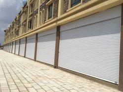 Paneles sándwich PU residencial Color de seguridad de Elevación Vertical de rodillos de acero hasta la puerta de garaje seccionales