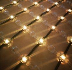 12VCC maille souple LED RVB Net pixel écran Lumière